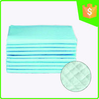 Breathable disposable chucks bed pads