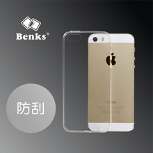 Original Benks 0.6mm TPU Case For iPhone 5/5s Ultra Thin Soft TPU Dirt-resistant Back Case Magic Crystal Clear Cover TB-0066
