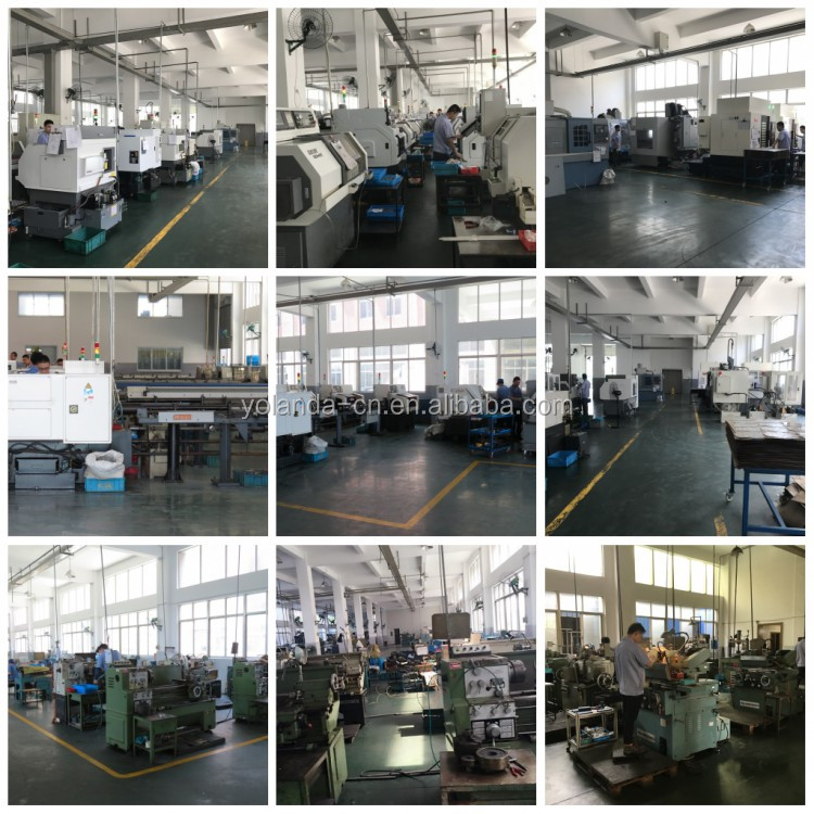 Professional Factory Orange Anodizing Custom Aluminum Precision Stamping Pressing Electronics Parts