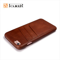 Vintage Leather Case for iPhone 6 6s Card Slots Flip Cover