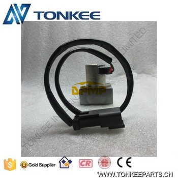 702-21-55901 PC200-7 piston pump solenoid PC220-7 PC300-7 hydraulic main pump solenoid