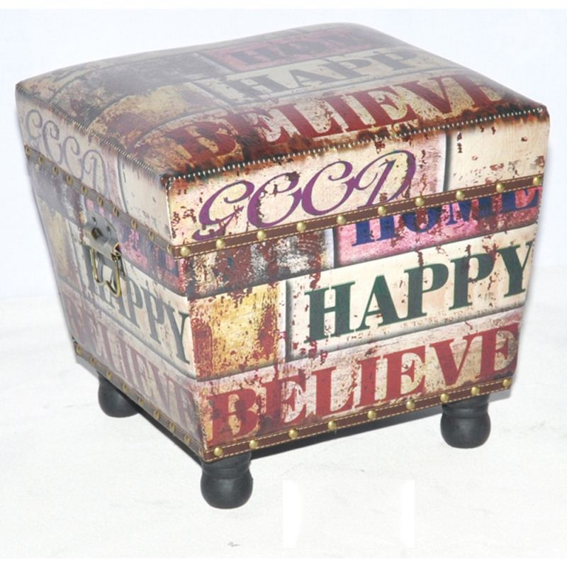 Wholesale Price Handmade Solid Color Ottoman Poufs