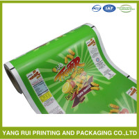 HOT sell snack food packaging film/plastic film/roll film