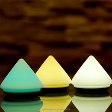 Volcanic Silicone LED Night Light Rechargeable Touch Sensor Clap Light