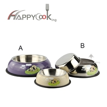 High quality different size of stainless steel pet bowl