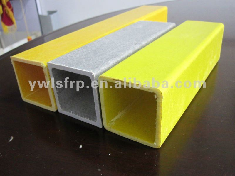 Bed Structures Pultruded Fiberglass Rectangular Tube