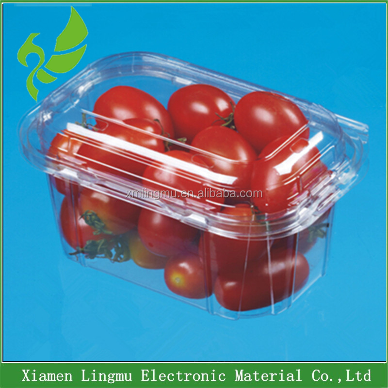 Blister disposable clear fruit salad packaging container from China