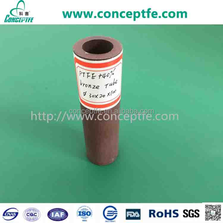 40% 60% bronze filled PTFE tube 150mm