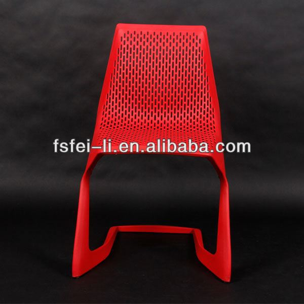 Modern plastic chair furniture shock absorber for chair for dining