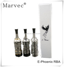 2017 Dongguan Marvec E-Phoenix RBA firebird atomizer from china supplier