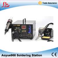 bga soldering machine High quality welding system AOYUE 968 solder station