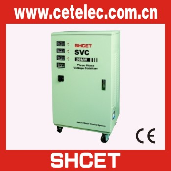 LVD EMC approved TNS/SVC 5kw home voltage regulator