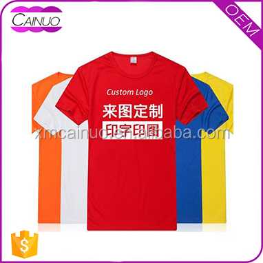 China Manufacturers Summer 100% Cotton Custom Logo Printed T Shirts In Bulk