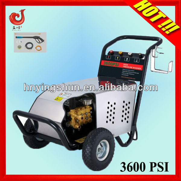 250Bar 15LPM 7.5KW foam car high pressure water jet solar panel cleaning equipment