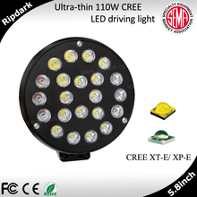 Aftermarket car parts popular offroad light LED driving light with IP69k for vehicles