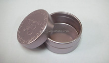 aluminum easy open end cap with jar,whitening cream packaging canister