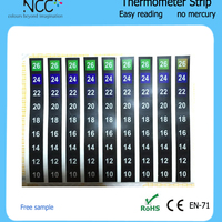 Low Price LCD Room Thermometer Strips