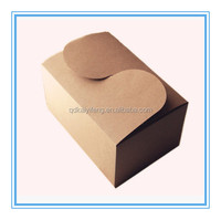 kraft food paper box brown handmade food brown box