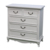 Wooden French Style Antique White Cabinet Bedroom