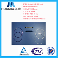 Nanjing Huamai Factory Price FTTH WDM Device cwdm dwdm mux or demux for OLT, ONU Equipment /CATV system