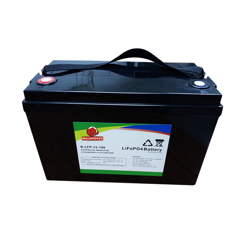 Long Deep cycle life solar 12v 100ah lifepo4 battery for ups system