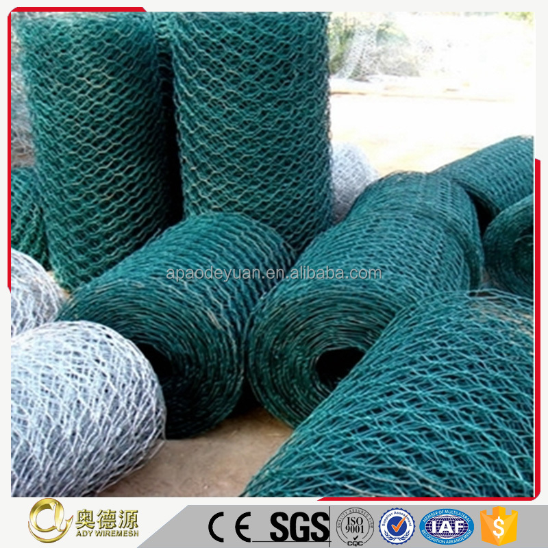 Favorable price for hexagonal iron wire mesh/Iron fence wire