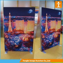 Led backlit picture frame Aluminum light box led frame