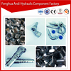 NPT MALE TEE HIGH PRESSURE CNC MACHINE CARBON STEEL HYDRAULIC HOSE FITTING