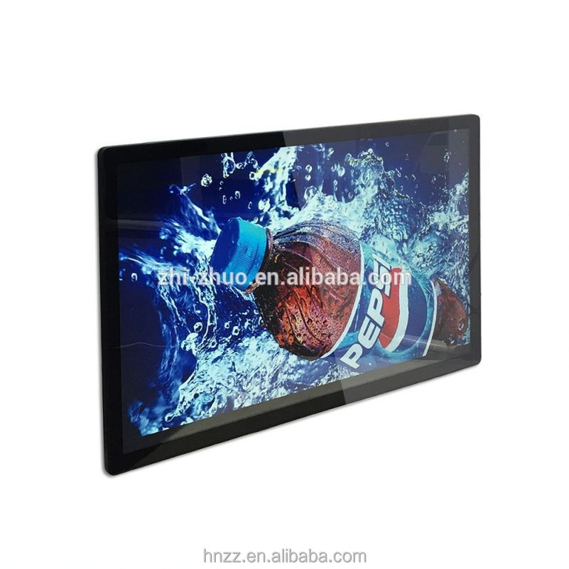32/42/50 1080P wall mounting led tv screen open frame external push button indoor advertising lcd display digital signage