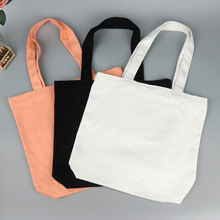Cotton material and handled style canvas tote bags bulk