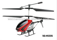 battery replaceable promotional rc helicopter with built-in gyroscope and full function of 3 channel