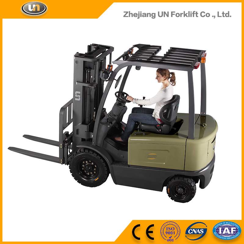 Wholesale China Trade Isuzu Four Wheel AC Powered 2.5t Mini Electric Forklift Truck Price