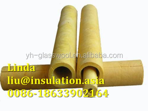 glass wool rock wool 3 inch pipe insulation