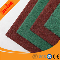 Outdoor playground type assembly gym mat rubber flooring for play areas