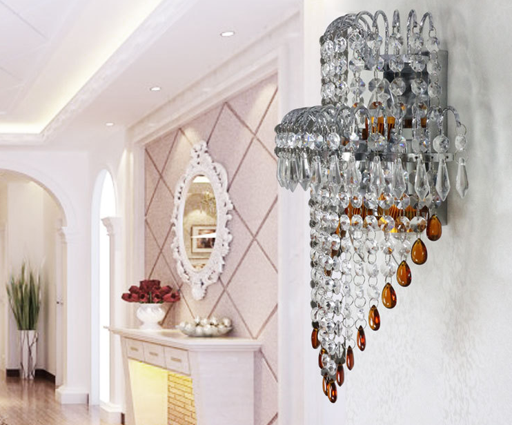 wholesale crystal moroccan wall sconces indoor modern