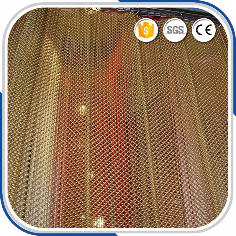 Iso9001 Quality Ensure Factory Price Architectural Wire Mesh Wedding Drapery