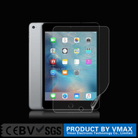 Ultra thin! high clear/ no bubble / Anti-fingerprint PET screen protector for iPad mini 2/3/4