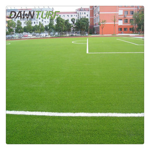 Durable heat resistant football artificial grass synthetic lawn