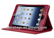 for iPad mini cover pu leather case folding tablet case