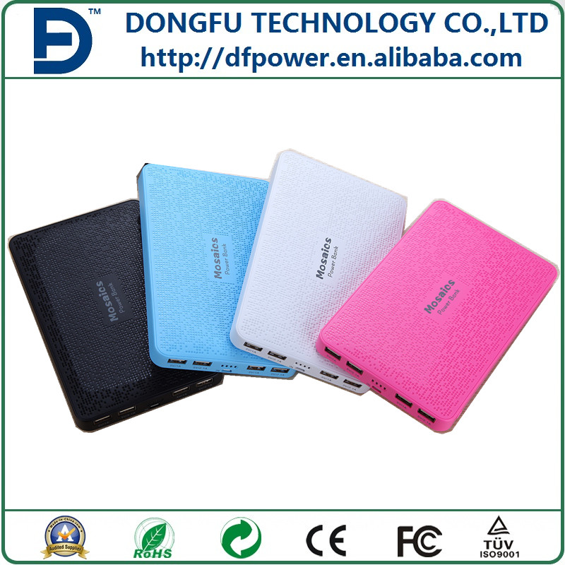 20000mAh Smart Power Bank, Smart phone 4 USB External Battery Charger for mobile phone,tablet,Camera,PSP