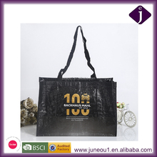 Promotional Recycled PP Woven Laminated Bags Advertisement Printed Shopping Tote Bag