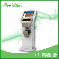Most professional facial skin analyzer machine for oil and dry analysis
