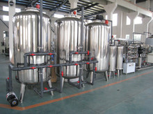 Professional demineralized water treatment plant