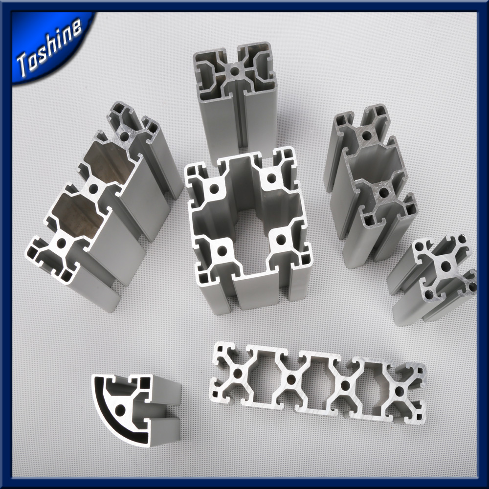 anodized aluminum t-slot table extruded industrial t slot aluminum
