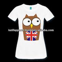 Women Print t-shirts, UK print t shirt for women
