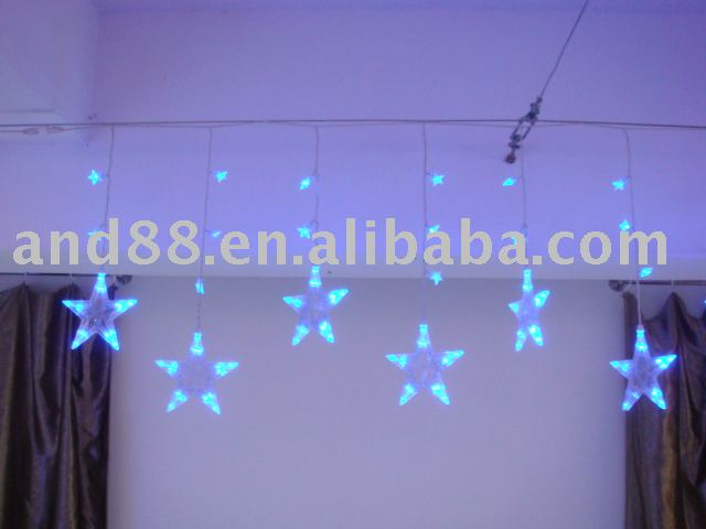 LED Icicle Light with star cover