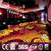 Low Price flower design wool carpet