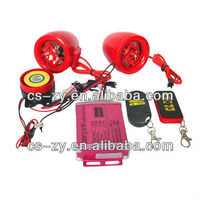 NEW!motorcycle alarm with remote start/motorcycle anti-theft mp3 alarm/rfid motorcycle alarm