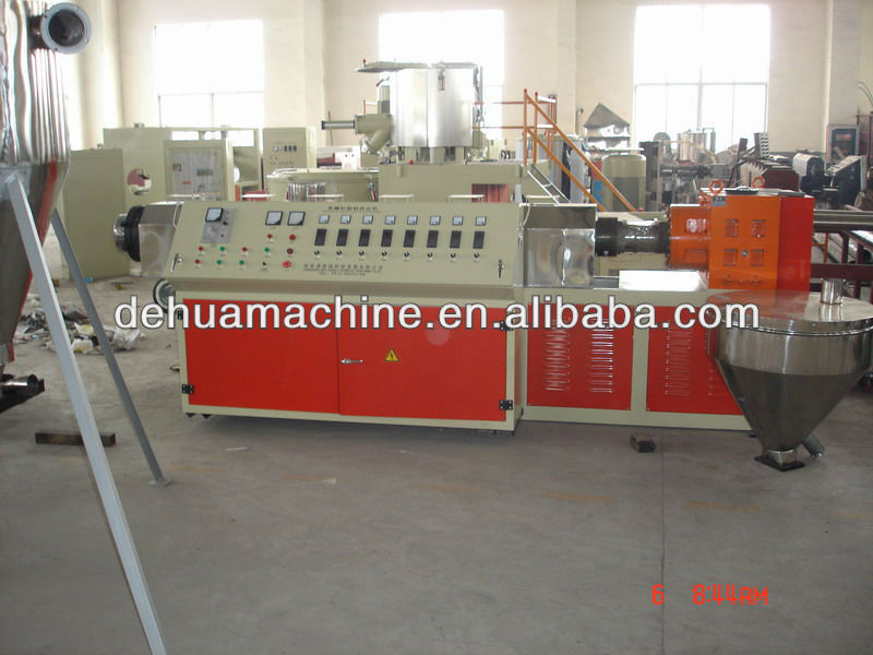 Single screw extruder for sales