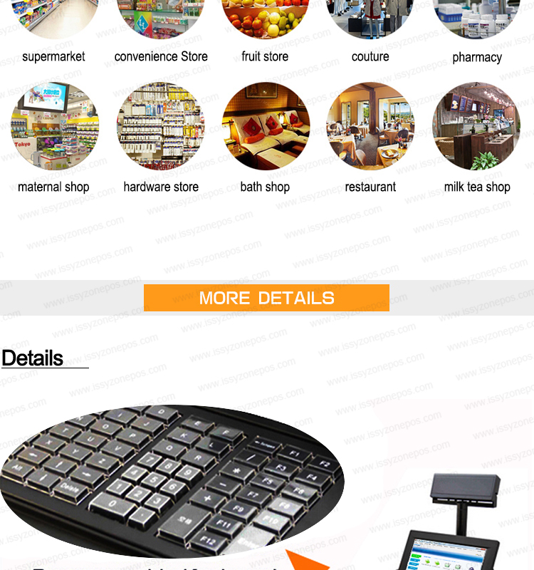 Ipos07 2016 Pos System Pos Machine All In e Touch Screen